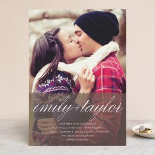 Sweet Scallop Wedding Invitations