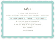 Classic Prep Wedding Invitations