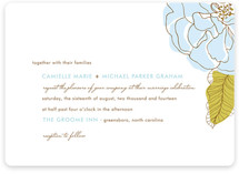 Simple Sophisticate Wedding Invitations