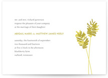 WHEATFIELD Wedding Invitations
