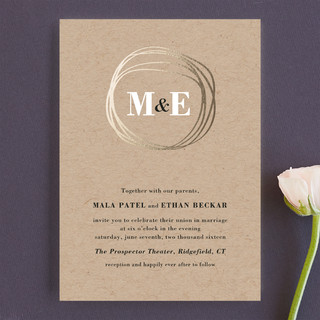 the big day wedding invitations by r studio minted