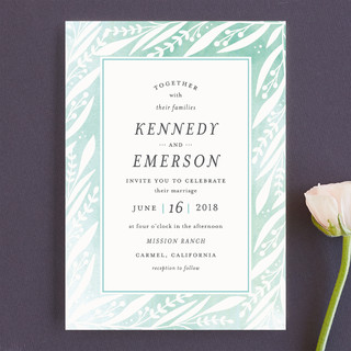 Breezy Branches Wedding Invitations