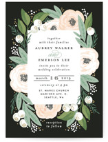 Blooming Bouquet Wedding Invitations