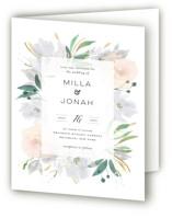 Grande Botanique Four-Panel Wedding Invitations