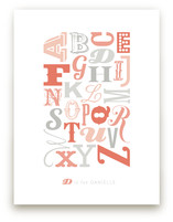 Know Your Letters Art Prints