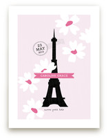Spring Time in Paris Art Prints