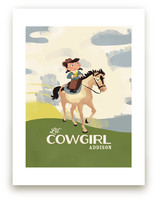 Lil&#039; Cowgirl Art Prints