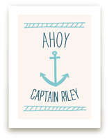 Ahoy Matey Art Prints