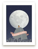 I See the Moon Art Prints