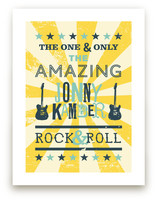 Rock & Roll Poster Art Prints