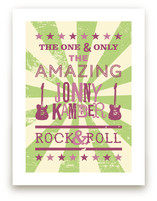 Rock &amp; Roll Poster Art Prints