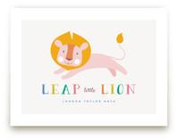 Leap Little Lion by Melanie Pavao