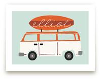 surfboard Art Prints