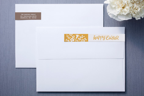 Crafted Easter Skinnywrap Address Labels