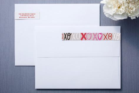 Doodle Words Skinnywrap™ Address Labels