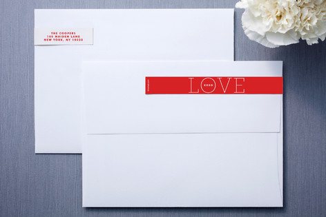 Love You Skinnywrap™ Address Labels