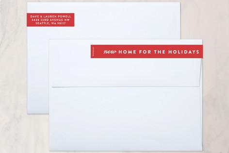 Holiday Home Skinnywrap™ Address Labels