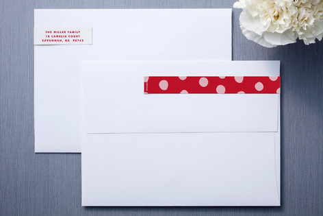 Gone Dotty Skinnywrap™ Address Labels