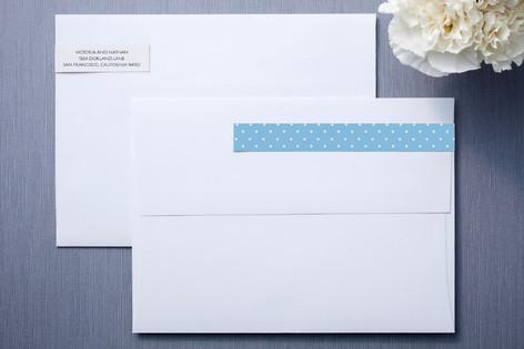 Chandelier Skinnywrap™ Address Labels