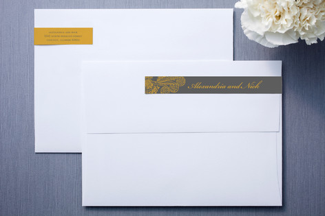 Spanish Lace Skinnywrap™ Address Labels