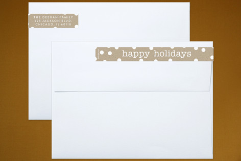 Festive Craft Skinnywrap™ Address Labels