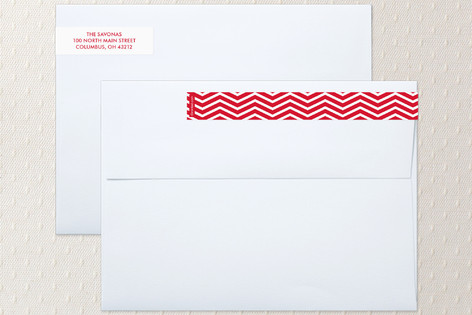 Married & Merry Skinnywrap™ Address Labels