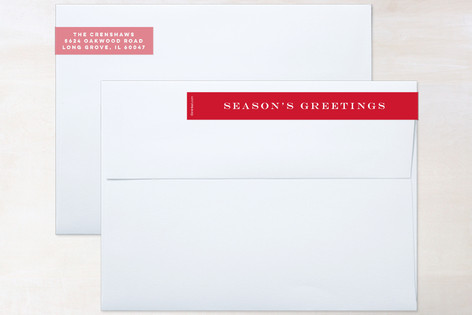 Festive & Fab Skinnywrap™ Address Labels