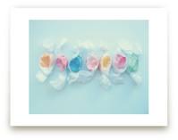 Blue taffy by Hannah E Palmer