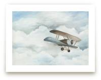 The Cloud Plane Art Prints