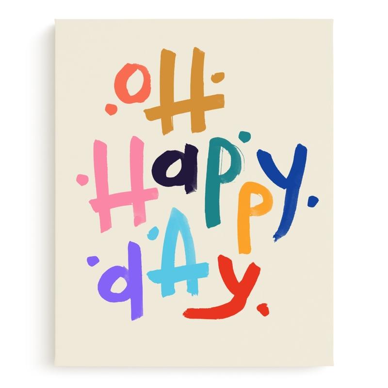 Oh Happy Day! Children's Art Print