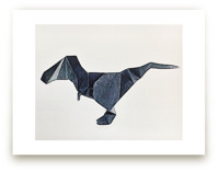 Paper Animals: TRex by Maja Cunningham