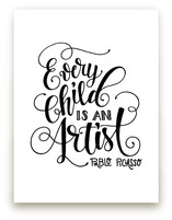 Child Artist by Pinch Me Moments
