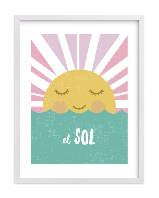 El Sol Children's Art Print
