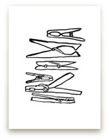 Clothespins 2 by Elliot Stokes
