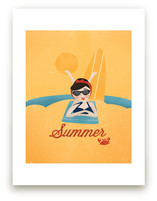 Sun and Surf Art Prints