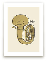 Jazz Duet #2 Art Prints