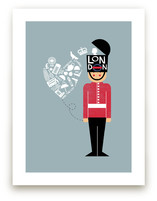 I Left My Heart In London Art Prints