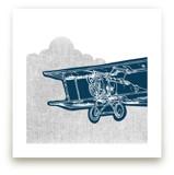 Vintage plane by Saksun