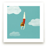 swimmer by Maria Gromek