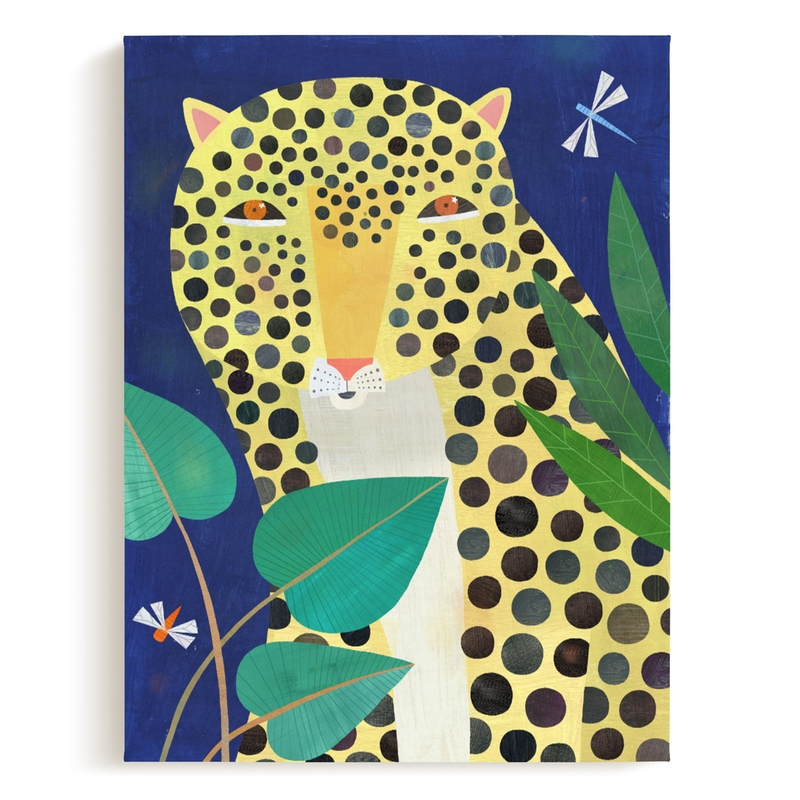 Jungle Leopard Children's Art Print
