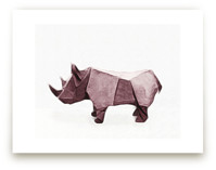Paper Animals: Rhinocer... by Maja Cunningham