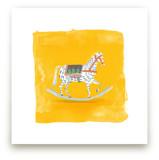 Saffron Rockabye Baby  by Zoe Pappenheimer