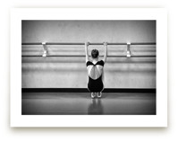 HANGING AT THE BARRE by Zanne Bedore
