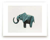 Paper Animals: Elephant by Maja Cunningham