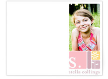 alpha blocks Children&#039;s Personalized Photo Stationery
