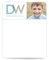 Boulevard Children's Personalized Photo Stationery
