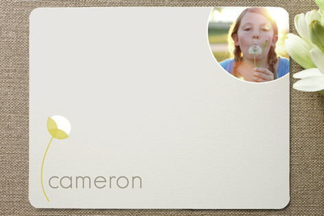 cotton Children's Personalized Photo Stationery