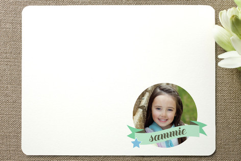 Friends 4ever Children's Personalized Photo Stationery