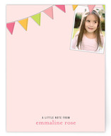 Fun Flags Children&#039;s Personalized Photo Stationery