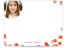 Funfetti Children&#039;s Personalized Photo Stationery